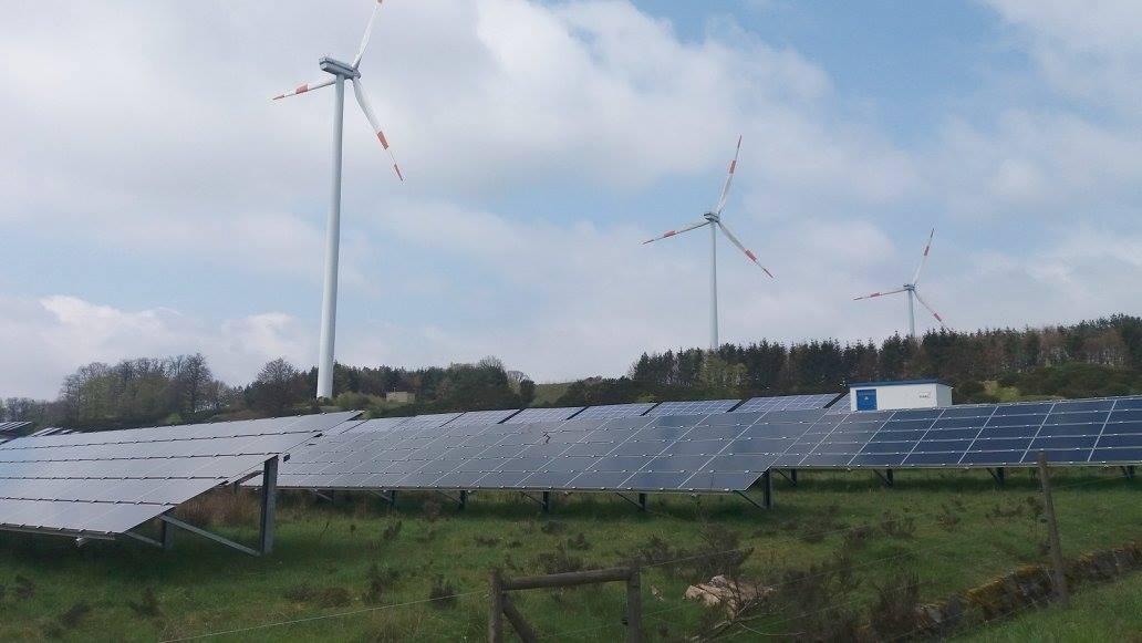 Het energiepark van Morbach