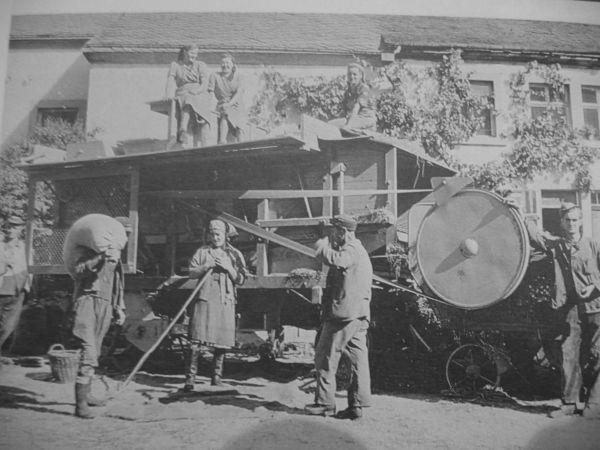 Industrialisatie net na of net voor de oorlog.